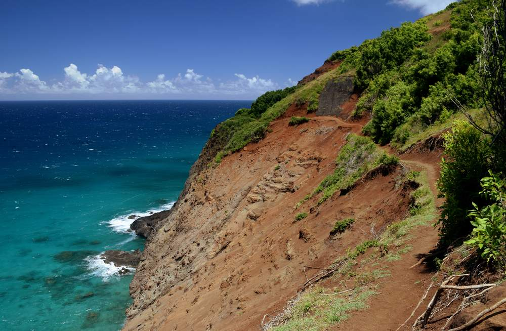 hiking kalalau