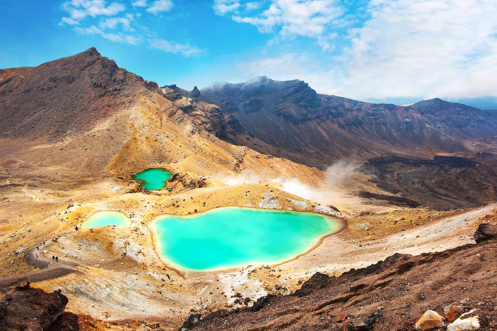 hiking tongariro