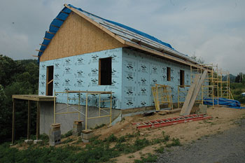 A Habitat for Humanity house in Avery County, NC