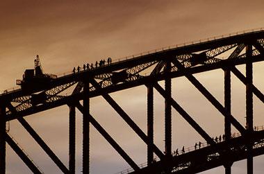 bridgeclimbing