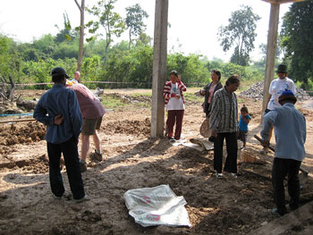 Voluntourism project in Cambodia