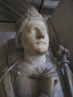 Rouen---Richard's-effigy