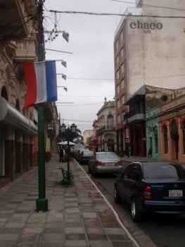 downtown-asuncion-with-flag