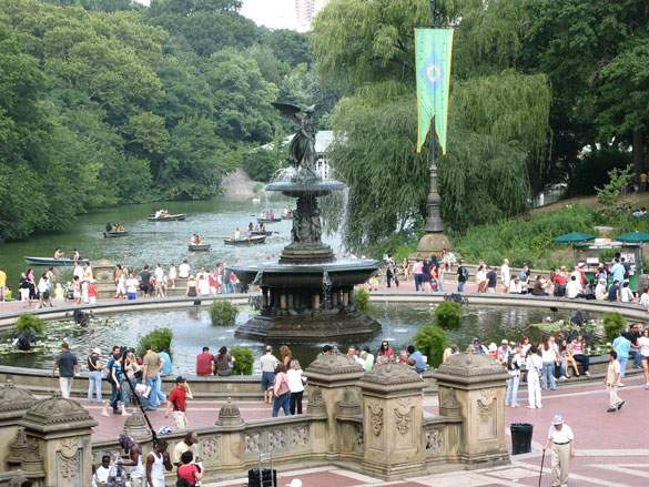 Bethesda Fountain – New York City , United States