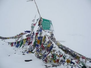 Prayer Flags over the Baralacha Pass