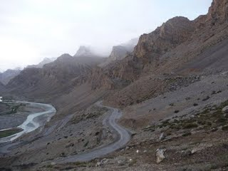 The Manali-Leh highway