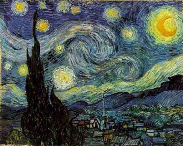 "Don McLean's song ""Starry, Starry Night"" is based on this painting"