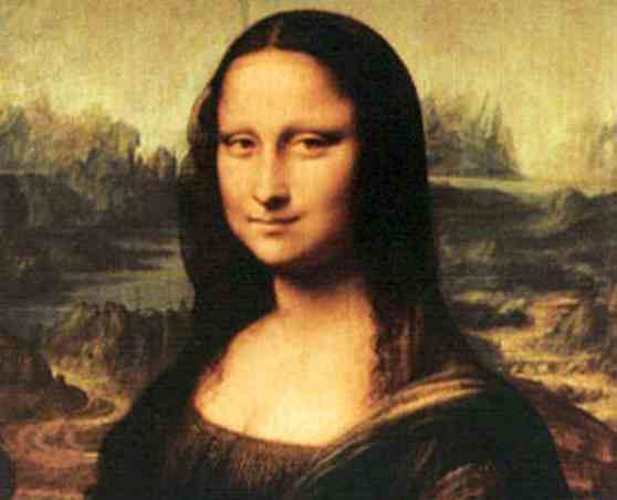 Some experts speculate that the Mona Lisa is a self-portrait of Leonardo da Vinci