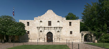 The Alamo represents the fight for Texas independence