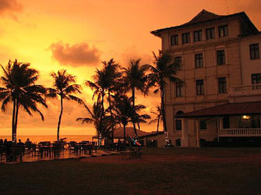 Galle-Face-Sunset