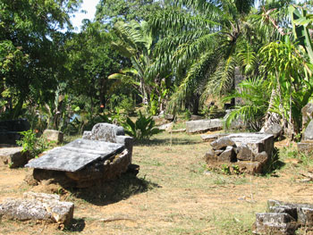 Pirate's graveyard in Madagascar