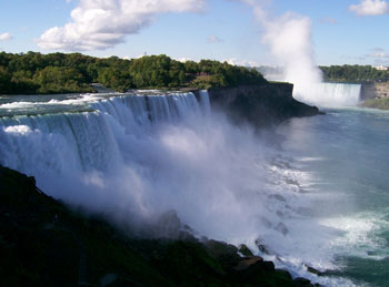 """Niagara"" is an Indian name meaning ""Thunder of Waters"""