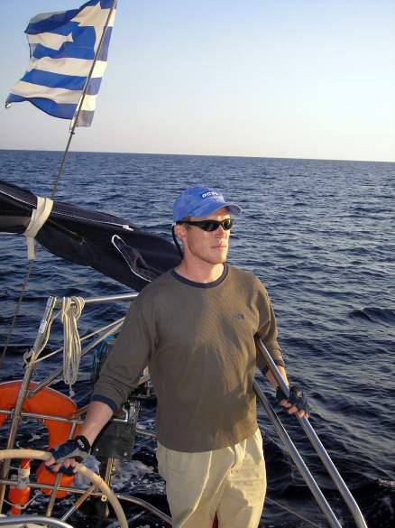 Rolf in the Greek Islands