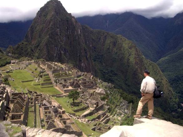 Rolf at Machu Picchu