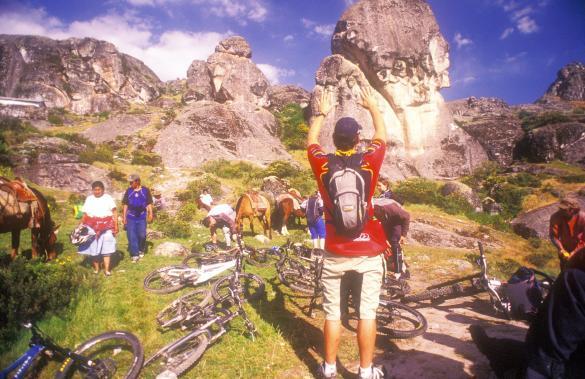 praying to the mountain bike gods