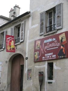 Musee de Montmartre, 12, rue Cortot