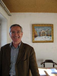 Museum Administrator Daniel Rolland