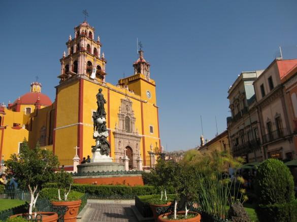 Basilica - Guanajuato, Mexico