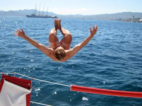 Flipping out in South of France