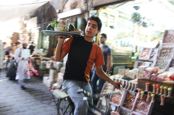 In the Souq of Damascus