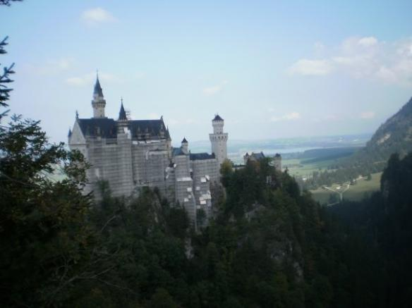 The 'most spectacular view' of Neuschwanstein
