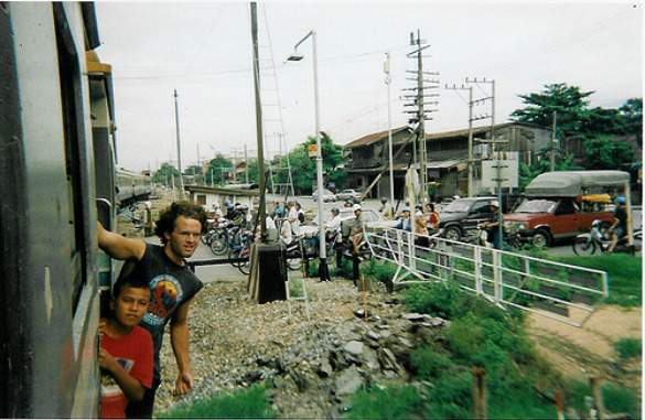 Riding the rails in Bangkok