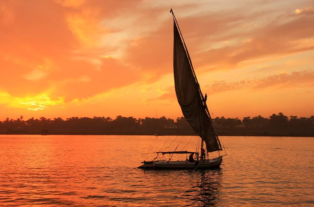 egypt boat