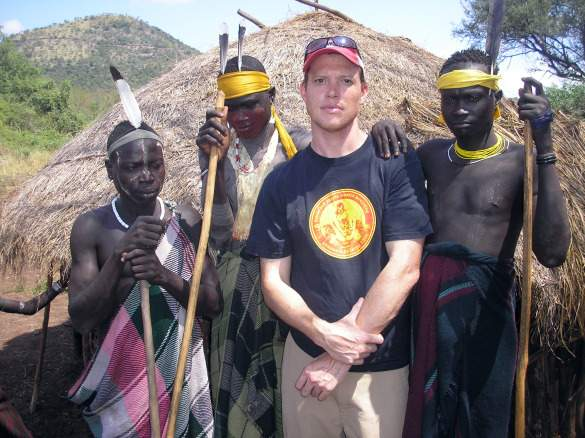 Rolf in Ethiopia