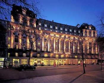 The Waldorf Hilton Hotel on Aldwych in the West End