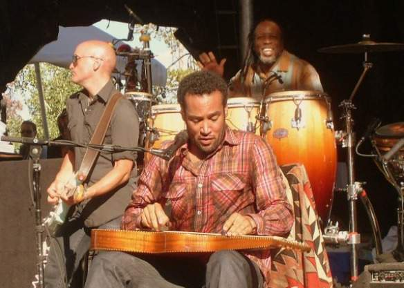 Backing Ben Harper at Jackson Hole
