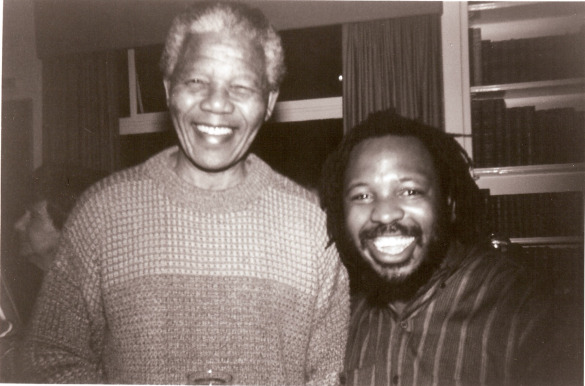 Leon and Nelson Mandela