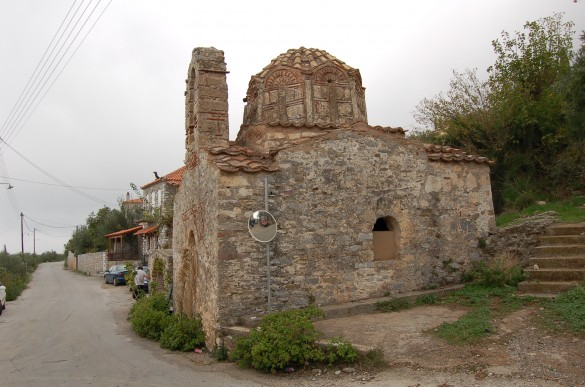 Byzantine-era churches dot the Mani.