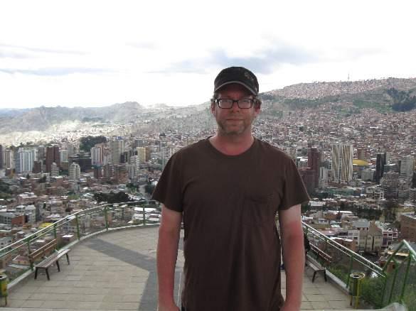 Sunburned in La Paz, Boliva