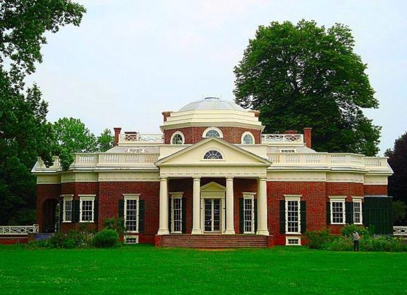 Eight great historic u s homes that you can visit bootsnall for Thomas jefferson house monticello