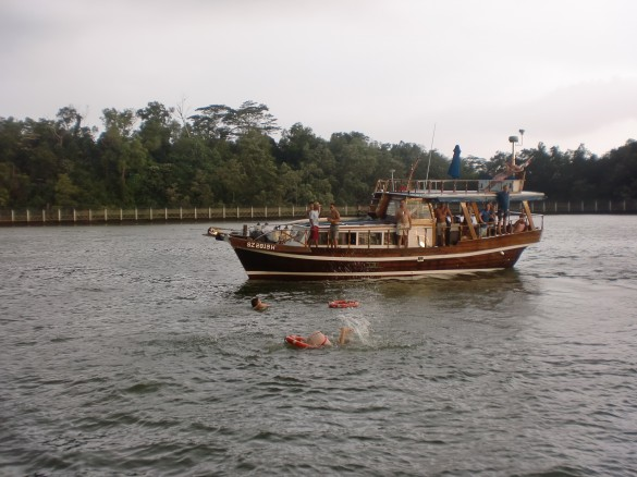 a chinese junk