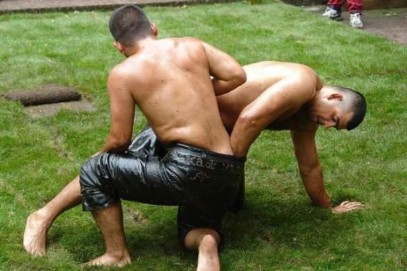 Kirkpinar Oil Wrestling Festival in Edirne
