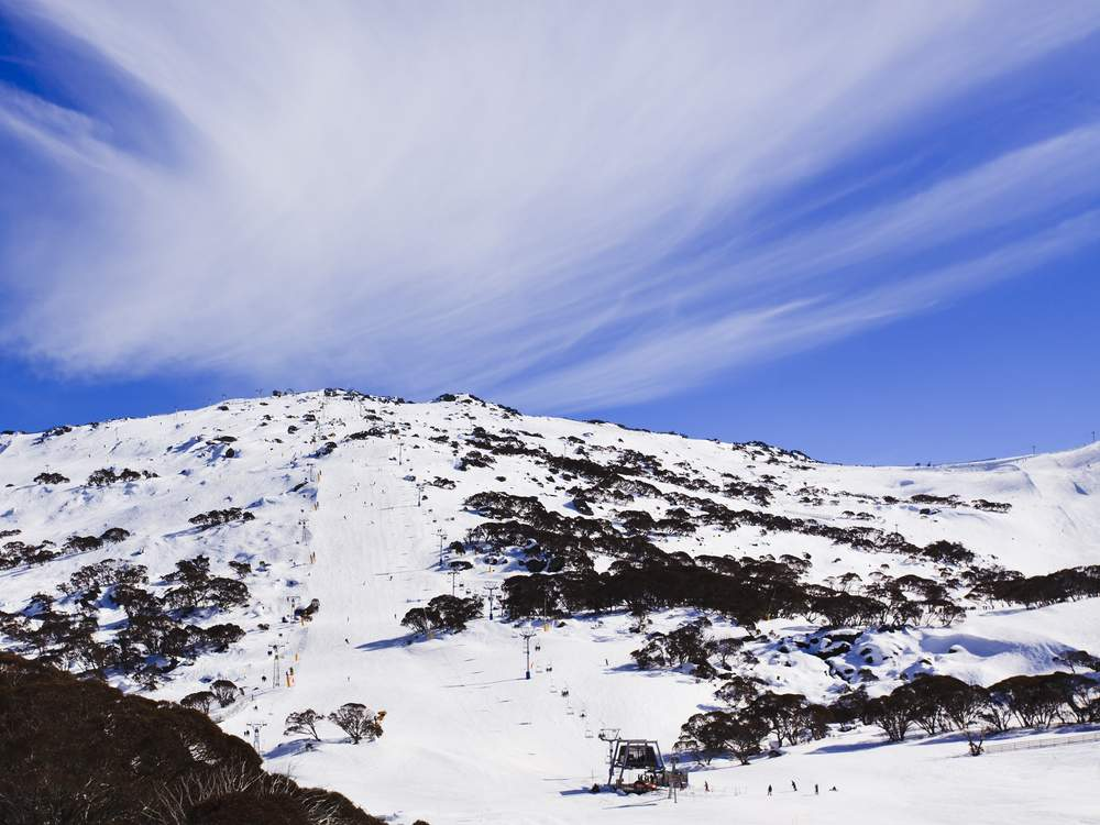australia snowy mountains