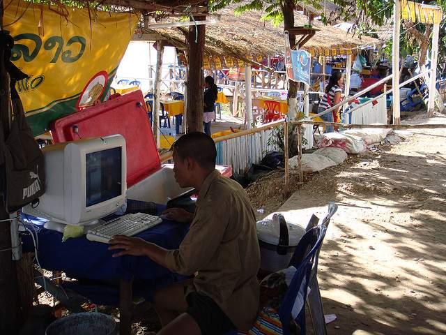 Blogging in a developing country