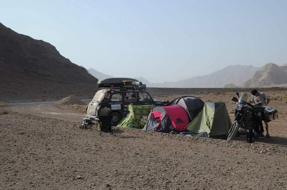 cab camping