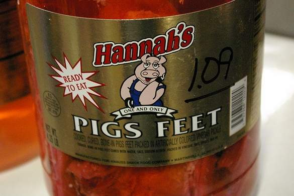 how to eat hormel pickled pigs feet