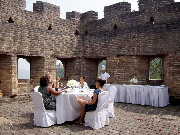 Banquet on the Great Wall
