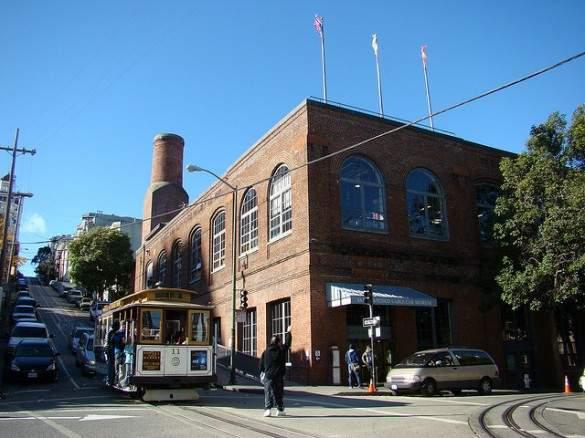 Cable Car Museum, San Francisco