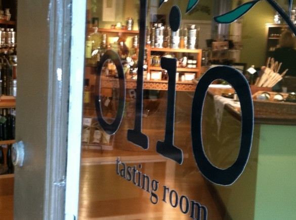 Olio, an olive oil tasting room on King Street.