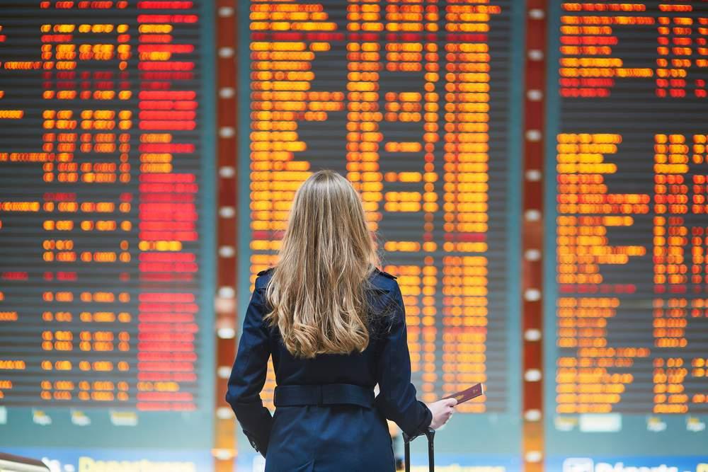 flying departures