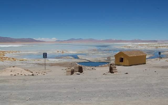 Salar de Chalvari-Salt Flats, Bolivia