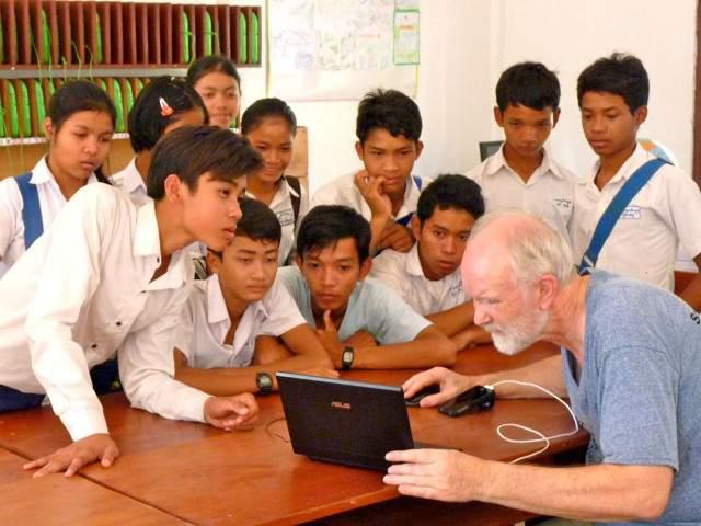 Cambodia Tchey School