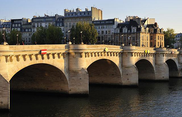 Pont Neuf - Маршрут по Парижу: остров Сите