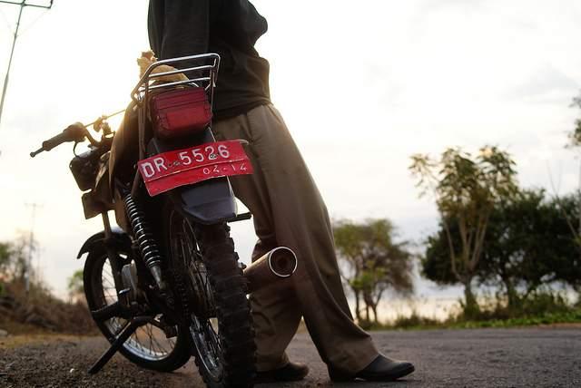 Indonesia motorbike