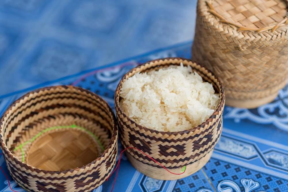 Laotian Sticky Rice