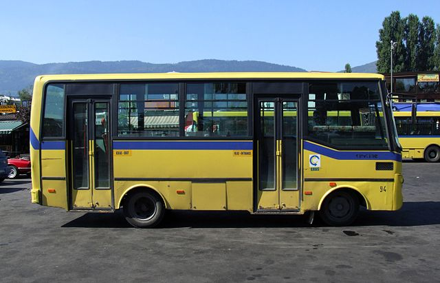 Bus in Bosnia